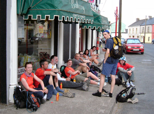 Refreshments including Loop the Loops at Clogheen.