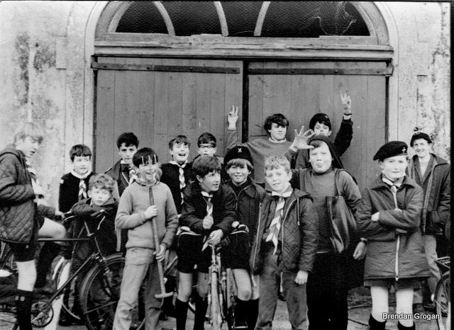 Archive picture from 1970's.. Weekend camp at Faithlegg, check out all the usual suspects...